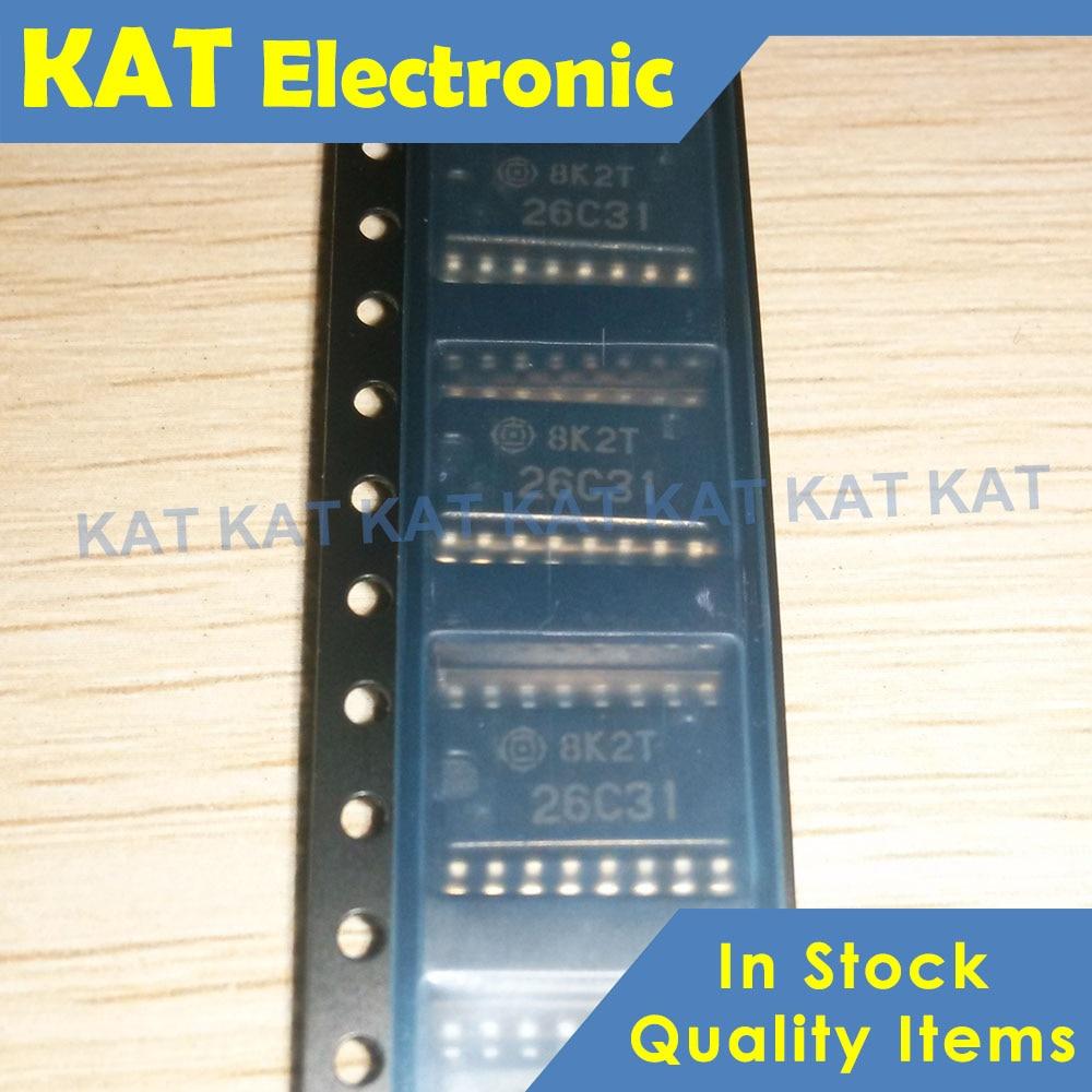 5PCS/Lot HD26C31FPEL 26C31 SOP-16 New&Original Quadruple Differential Line Drivers With 3 State Outputs