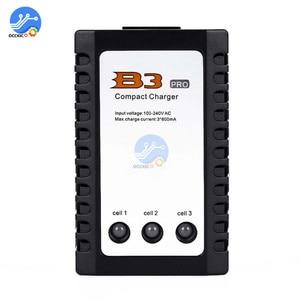 Зарядное устройство Lipo для iMaxRC iMax B3 Pro Compact 2S 3S, 110-240 В переменного тока для вертолета на дистанционном управлении