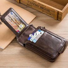 Men's Genuine Leather RFID Wallet