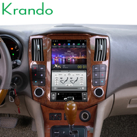 Krando car radio gps for Lexus RX330 RX350 RX400 android 9.0 4+32g 11.8 Tesla Vertical screen navigation multimedia system WIFI