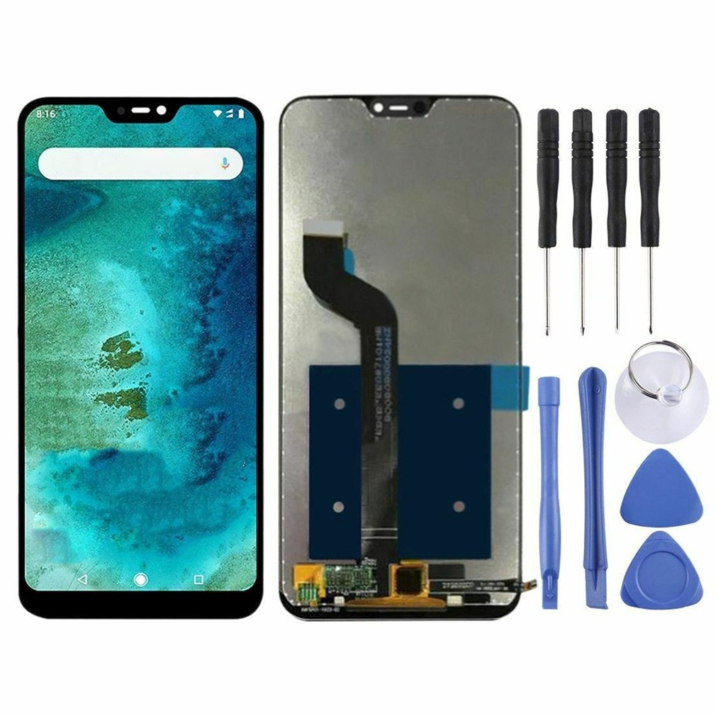 For Xiaomi Redmi A2 Lite/Redmi 6 Pro Glass LCD Display Touch Screen Assembly Panel Frame Screen Digitizer Replacement Part