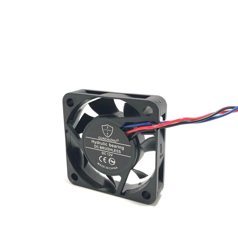 2Pcs 25mm 0.11A 5V Sleeve bearing cooling fan 2510 25 x 25 x 10 mm for CPU GPU