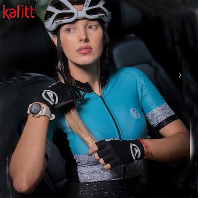 Kafitt triathlon manga curta camisa de ciclismo terno ciclismo wear shorts terno completo ropa ciclismo secagem rápida jérsei maillot 3
