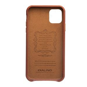 Image 3 - ل iPhone11 مكتب حقيبة ظهر جلدية حقيقية آيفون X XR الرجعية جلد البقر والجلود جراب هاتف الغطاء الخلفي ضئيلة آيفون 11 برو ماكس