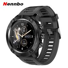 MC01 inteligentny zegarek tętno monitorowanie ciśnienia krwi Smartwatch mężczyźni Sport zegarek z gps dla IOS telefon z systemem Android tanie tanio Nennbo CN (pochodzenie) Brak Na nadgarstku Wszystko kompatybilny 128 MB Passometer Fitness tracker Uśpienia tracker
