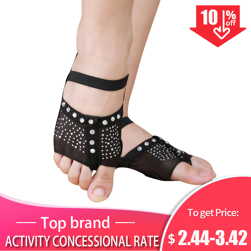 Thong Dance-Shoes Women Sun-Diamond XL Decorated Foot-Half Us3.5-10.5 Size-34-41