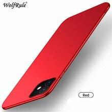 For Cover iphone 11 Case Stylish Smooth Skin Ultra Thin PC Matte Phone Case For iphone 11 Case Cover For iphone 11 Coque Fundas цена в Москве и Питере
