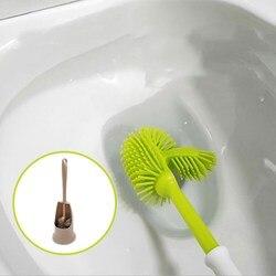 Dwustronna przenośna szczotka do wc Scrubbe Soft Nano szczotka do czyszczenia toaleta wc szczotka urządzenia do oczyszczania akcesoria łazienkowe