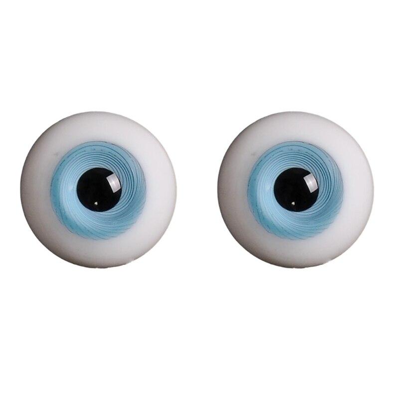 14mm 1/3 1/4 Doll Glass Eyes Doll Accessories Glasss Doll Eyeball 19