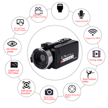 Video Camcorder Camera Full HD 1080P Vlog Camera Camera Digital Zoom