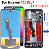 Lcd For Huawei P20 Pro Lcd Display 1080*2240 Touch Screen Digitizer Assembly For Huawei P20 Plus CLT-AL01 CLT-L29 CLT-L09 L04