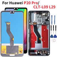 Lcd pour Huawei P20 Pro écran Lcd 1080*2240 écran tactile numériseur assemblée pour Huawei P20 Plus CLT-AL01 CLT-L29 CLT-L09 L04