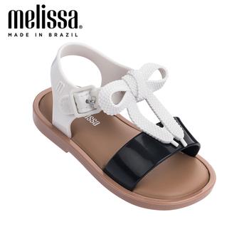 Mini Melissa sandały letnie żelowe buty dziewczęce plażowe sandały 2020 dziecięce buty Melissa sandały antypoślizgowe dziecięce buty dziecięce sandały tanie i dobre opinie QYD CGOQ Skóra nubukowa Płaskie Obcasy Hook loop Pasuje prawda na wymiar weź swój normalny rozmiar 12 m 24 m Urok