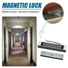 Elektroniczny zamek magnetyczny Electro zamek magnetyczny s DC Access 12V sterowanie elektryczne zestaw do ochrony kuchni domowej