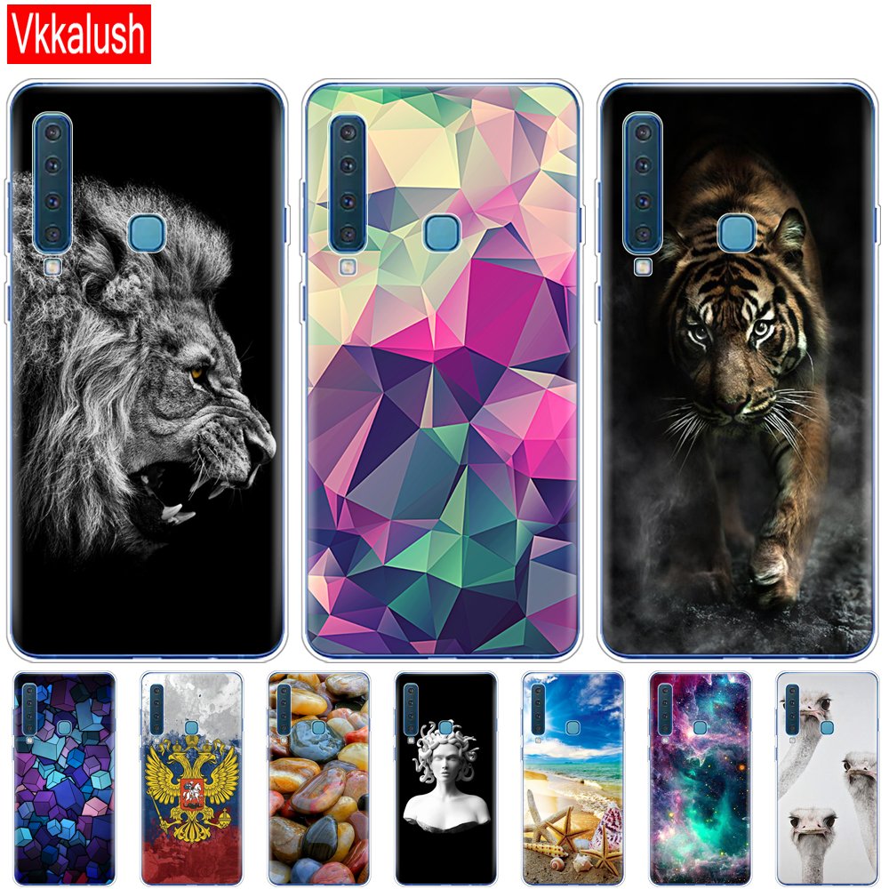 Image 2 - For Samsung Galaxy A9 2018 Case Samsung A9 2018 Cover Silicon TPU Phone Case For Samsung A9 A920F A920 SM A920F Cover shell-in Fitted Cases from Cellphones & Telecommunications