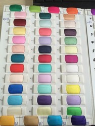 Маленькие Цветные образцы из органзы для выпускного платья (3-5 см/шт.)