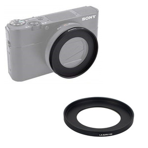 Image 2 - Filter set UV CPL ND & Adapter Ring & Lens Hood Cap Cleaning Pen Rubber Air Blower for Sony RX100 V VI III II M5 M4 M3 M2 Camera