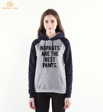 2020 New Spring Autumn Funny Raglan Hoodies No Pan