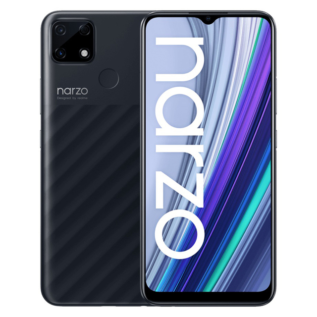 "Global Version realme Narzo 30A 4GB 64GB  6.5""HD+Helio G85 6000mAh 13MP AI Triple Dual Camera 18W EU ChargerMobile Phone 2"