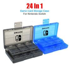 Z Logo 24 w 1 etui na karty do gry na przełącznik Nintendo przenośny pojemnik do przechowywania na przełącznik NS Lite osłona ochronna twarda osłona