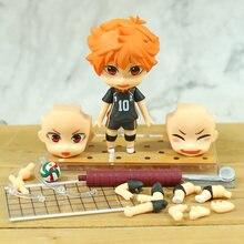 10CM Haikyuu rysunek Hinata Shoyo pcv figurka zabawki z PVC kolekcja lalek Anime Model z kreskówki Kageyama todo Kozume Kenma