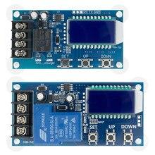 Dc 6-60v 30a módulo de controle de carregamento da bateria de armazenamento placa de proteção carregador interruptor de tempo display lcd XY-L30A XY-L15A