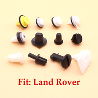 50pcs ANR2224 Auto Bumper Wheel Arch Rivets Clips for Land Ro-ver Discovery Ran-ge Ro-ver Qiilu Bumper Clips