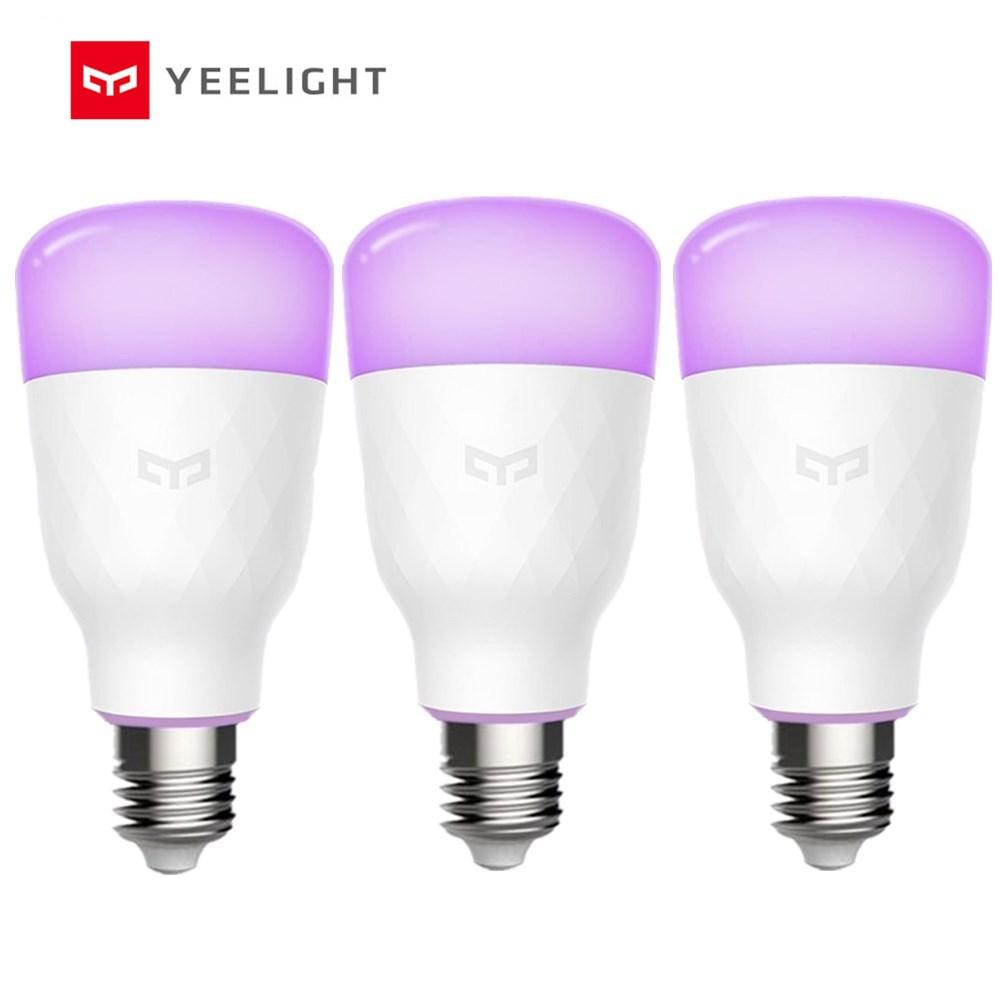Yeelight YLDP06YL E26 /E27 10W RGBW Smart LED Bulb Work With ...