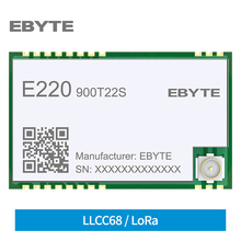 E220-900T22S IOT Board Wireless LoRa Module RSSI ISM 868MHz 915MHz 22dBm SMD UART Interface IPEX Antenna Anti-Interference