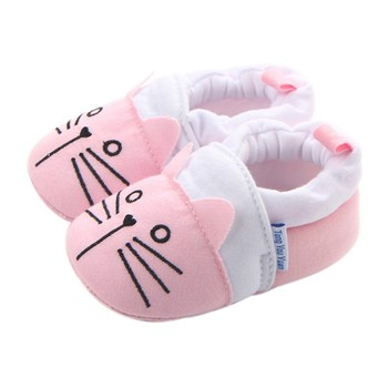 Newborn Baby Boys Girls Animal Shoes Infant Cartoon Soft Sole Non-slip Cute Warm Animal Baby Shoes 1