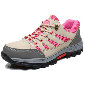 Image 2 - Mens Heavy Duty Safety Shoes With Steel Toe Cap Protective Footwear Outdoor Working Boots