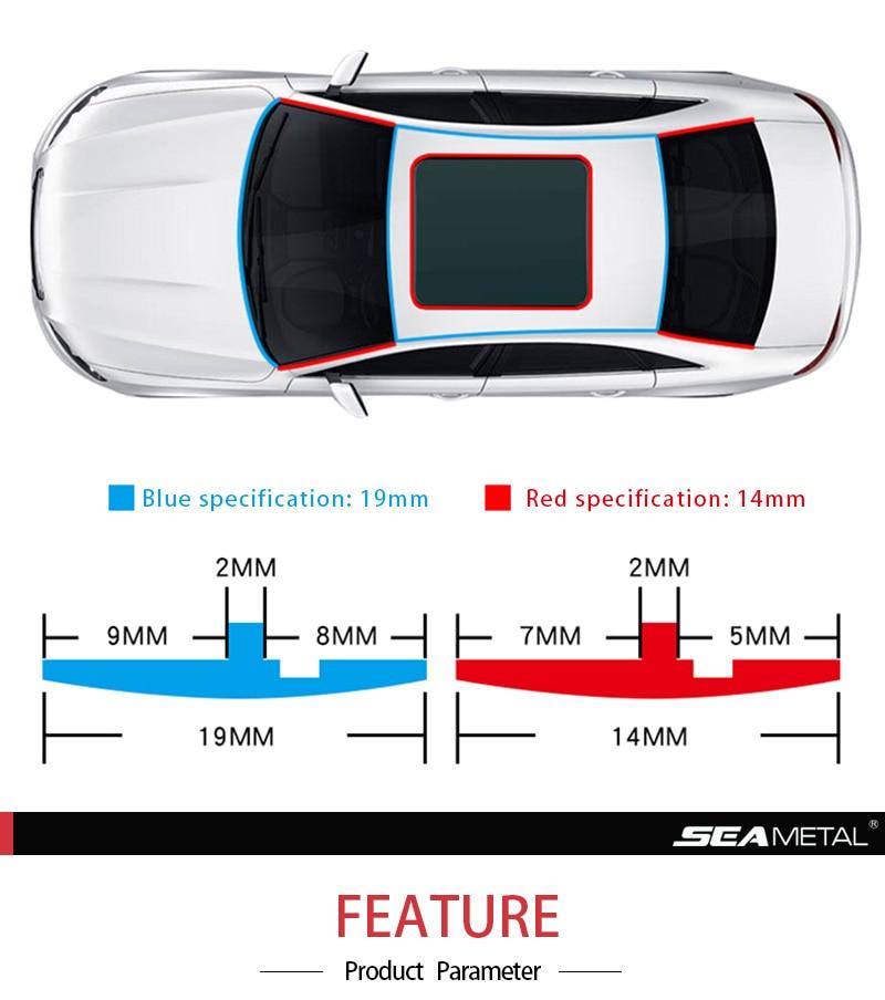 Автомобильные резиновые уплотнительные полоски, авто протектор уплотнения, стикер, оконный край, лобовое стекло, крыша, резиновая уплотнительная полоса, шумоизоляция, аксессуары