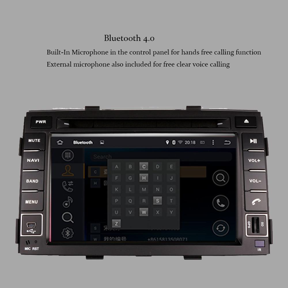4G android 9,0 автомобильный dvd для kia sorento 2010 2012 в dash автомобильный стерео gps головное устройство магнитофон автомобильный мультимедийный плеер - 5