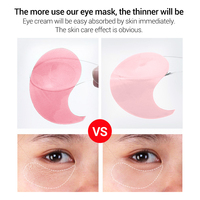 Rose Hydra Gel Eye Mask Lady 60pcs Collagen Eye Patches Remove Puffy Eyes Original Nourish Repair Micro Molecule Brighten Skin 3