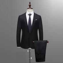 Suit Blazers Boutique-Suit Custom Business Male Two-Piece/slim And Spring High-End