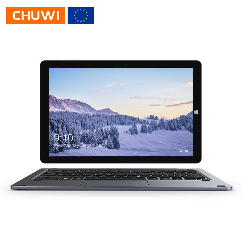 CHUWI Hi10 Air 10.1 Inch 1920*1200 IPS Layar Intel Cherry Trail-T3 Z8350 Quad Core Windows 10 Tablet 4GB 64GB Micro HDMI