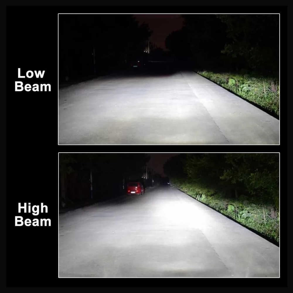 roadsun LED H4 H7 H1 HB4 H11 HB3 9005 9006 CSP Chip Car Headlight Bulbs 72W 12V 6000K 12000Lm Lamp Auto Bulb Light