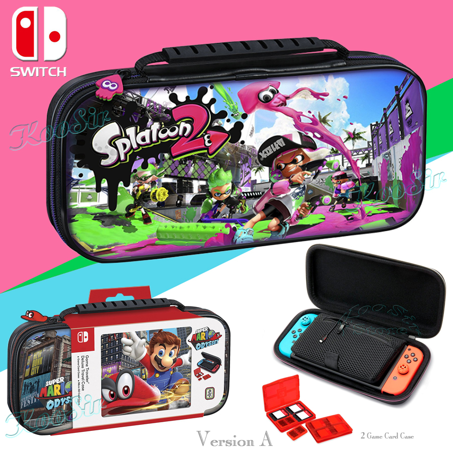 Nintend Switch Super Mariokart Storage Bag Nintendoswitch Console Carrying Case Cover For Nintendos Switch Accessories Shell