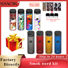 New colors Smok Nord Kit Vape pod 1100mAh Built-in Battery 3ML Pod Cartridge Pen electronic cigarette to