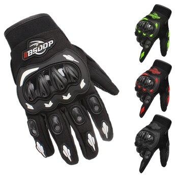 Guantes de motocicleta de dedo completo, protección para deportes al aire libre, para montar en bicicleta