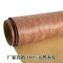 2pcs L:2.5Meters Width:62cm  Thickness:0.25mm  Wood Veneer