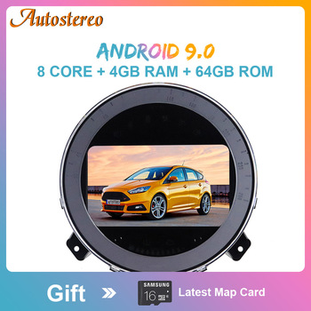 Android 10.0 Car Multimedia Player Auto Stereo GPS Navigation For Mini R56 R60 Cooper 2007-2014 Car Audio Radio Stereo Head Unit