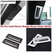 Внутренняя отделка для land rover range velar 2018 2021 передняя