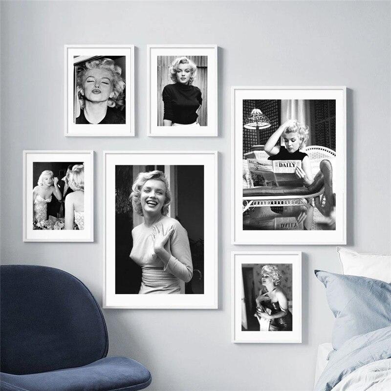 Marilyn Monroe Black & White Pictures