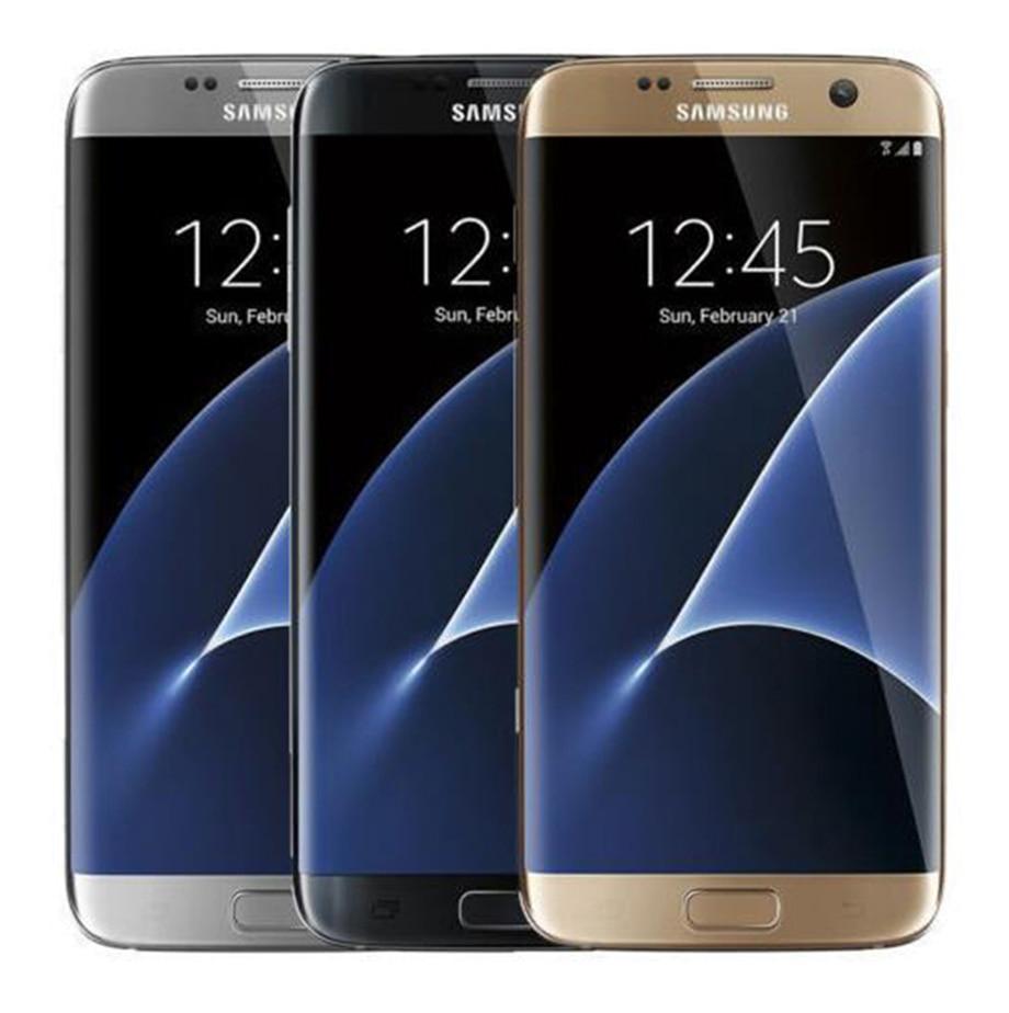 Samsung Galaxy S7 Edge  Original Unlocked G935V/G935F 5.5 Inch 4GB RAM 32GB ROM 12MP Quad-core LTE 4G Refurbished Cellphone