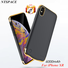 External Battery Charger Cover 6000mAh Extended Phone Power Case For iPhone XR Bank