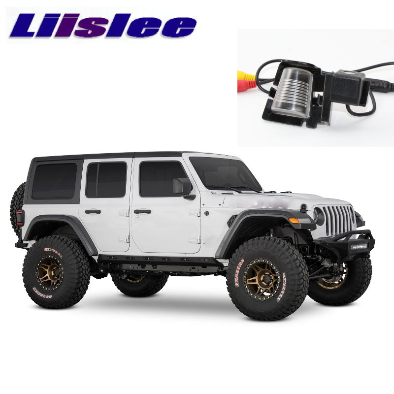 LiisLee Car HD Reversing Image Camera For Land For Jeep Wrangler JK JL 2006~2020 Night Vision Dedicated Rear View Back Camera
