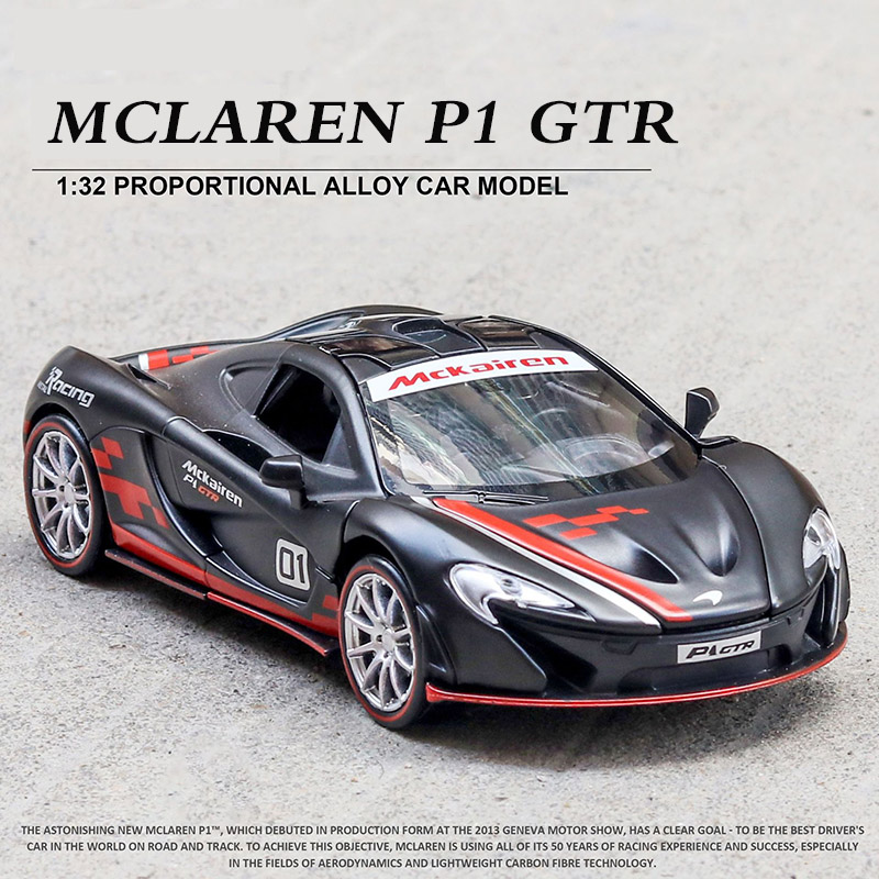 1:32 McLaren P1 Diecasts & Toy Vehicles Simulation Car Model High Simitation Cars Toys For Children Kids Collection Gifts