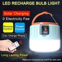 Новый 280 Вт Солнечный светодиодный кемпинг светильник на открытом