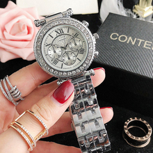 Bracelet Watches Luxury Clock Quartz Silver Top-Brand Women Montre Femme New